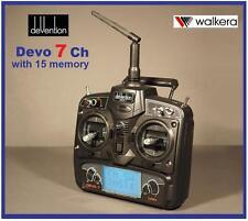 Walkera Devo 7 CH Émetteur avec 15 Modèle Mémoire inclus récepteur RX701