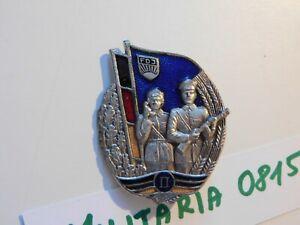 DDR FDJ Abzeichen Militärsportliches Leistungsabzeichen des MfS  Stufe I I rrrr