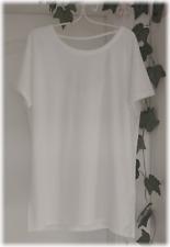 NEU! 20�'� - ESPRIT - Oversize Shirt mit Rückenausschnitt Weiss offwhite XXL 44