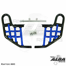 Yamaha Raptor 660 YFM660   Nerf Bars   Alba Racing    Black Blue  203 T1 BL