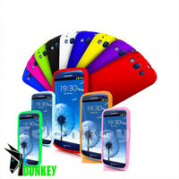 CUSTODIA CASE COVER PER SAMSUNG GALAXY S3 I9300 SILICONE GEL SLIM SOFT MORBIDA