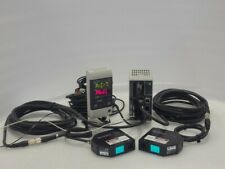 KEYENCE LK-G30 DISPLACEMENT SENSOR(2UNIT)& LK-G3001(LK-GD500) Controller+ Cable