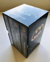 VHS BOXSET Batman / Batman Returns / Batman Forever MICHAEL KEATON VAL KILMER