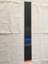 """12Pcs 30"""" Carbon Express arrow shaft Spine 300+12pcs insert+12pcs arrow Nock"""