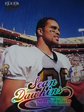 NFL 138 Sean Dawkins New Orleans Saints Fleer Ultra 1999