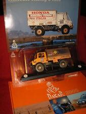 1/43 Mercedes Unimog Camion Dakar Bonera Grassi #503 1984 + Book Dakar 2005 DeA