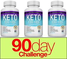 Keto Diet Pills BHB Advanced Ketosis Weight Loss To Burn Fat Fast 3 Month Supply