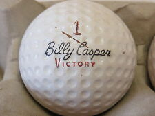 (1) Billy Casper Signature Logo Golf Ball (Cir 1968 #1 Victory Solid State)