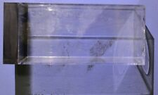Clear Acrylic Display Box 2.3 x 5.3 inches - Acrylic Smudges