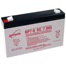 Blei-Gel Akku 6V 7Ah bgl. Sunstone Battery Spirit (Spt) 6-7 Accu Batterie