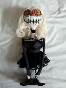 Ooak Hand Made Creepy Victorian Gothic Art Doll Vampire Doll ceeepy dead doll