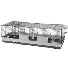 Rabbit Cage Extra Large Guinea Pigs Hay Rack Drinking Bottle Nesting Area 2 Door