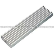100x25x10mm Aluminum Heat Sink Cooling for LED Power IC Circuit Transistor NEW