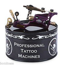 New Professional Tattoo Body Art Special Alloy Motor Rotary Machine Gun Purple