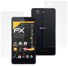 3x FX-Antireflex Schutzfolie Sony Xperia Z3 Compact Displayschutzfolie Folie