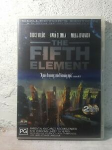 Fifth Element Collector's Edition ( DVD : 2 DISC ) Special Features - RARE