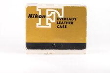Nikon F - Original Eveready Leather Camera Case CTT - BOXED