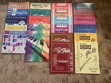 22 New Piano Methods Written by Whitford, Hirschberg, Zepp, & Nevin