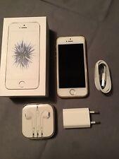 iPhone SE - 64 Go - Argent, parfait état, avec accessoires neufs et coque
