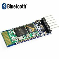 HC-05 Wireless Seriell 6 Pin Bluetooth HF-Transceiver-Modul RS232 mit Backplane.