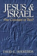 Jesus and Israel: One Covenant or Two?: By David E Holwerda