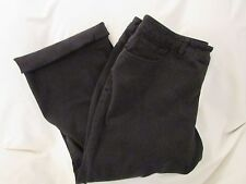 """Ladies """"Chaps"""" Size 16, Black, Slimming, Mid Rise, Cropped Jeans"""