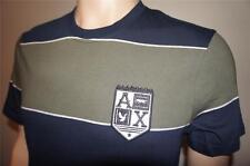 Armani Exchange T Shirt New A/X Mens Yarn-Dyed Short Sleeve Stripe Crew