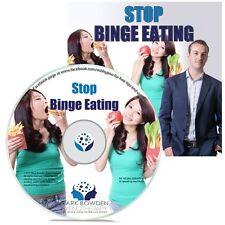Stop Binge Eating Hypnosis CD + FREE MP3 VERSION program to lose weight