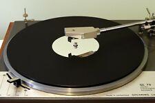 Matt Black & Mirror Audiophile Acrylic Turntable Platter Mat. Fits LENCO!