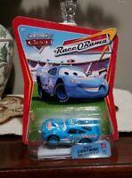 Disney Pixar Cars Race O Rama Dinoco Lightning McQueen Rare