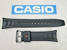 Genuine Casio ProTrek PRW-200J PRS-500 black resin rubber watch band strap