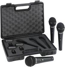 BEHRINGER ULTRAVOICE XM1800S 3 PACK Kit 3 microfoni dinamici con valigetta inclu