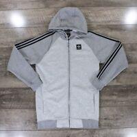 Adidas Originals AS Hoodie Track Jacket In Grey S93407 RRP £75