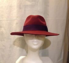 80cfd63a4eb Harkin s Trilby Hat 100% Wool One Size Adjustable Draw String 57cm Ladies