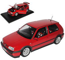 VW VOLKSWAGEN GOLF III GTI rouge 3 PORTE 20 ANS EDITION 1991-1997 1/18 NOREV mod