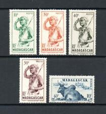 Madagascar 1946. Part Set. MM. Pictorials. One postage for all buys.