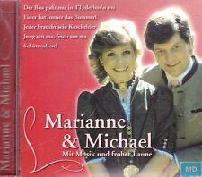 Marianne & Michael + CD + Mit Musik und froher Laune + 16 Lieder Volksmusik +