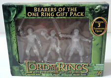 Lord of The Rings Bearers of the One Ring Gift Pack 3 Translucent Action Figures