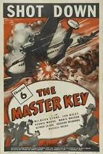 The Master Key 1945 movie serial in case with artwork Free Shipping World War 2