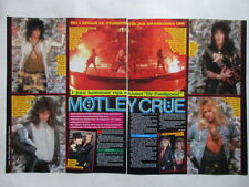 Motley Crue Tommy Lee Nikki Sixx Vince Mick Sharise clippings Sweden