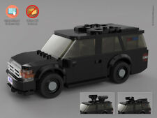 Instructions & Stickers to build a custom Lego Presidential SUV - NO BRICKS