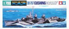 TAMIYA 1/700 SHIPS US DESTROYER CUSHING