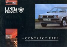 Lancia Y10 Delta HF Turbo Thema CONTRACT HIRE English text
