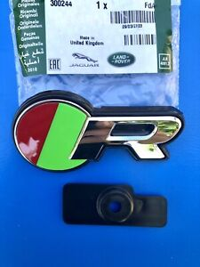LOGO JAGUAR R CALANDRE GRILLE  XJ XE XF F F-PACE BADGE ORIGINAL C2D31237
