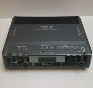 """ROLAND CD - 2 CF/CD Recorder CD-R/RW Drive CompactFlash """"AS IS"""" Not Tested"""