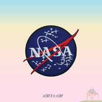 NASA USA Logo Special Embroidered Iron On Patch Sew On Badge
