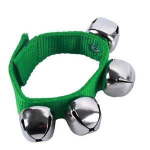 Handbell Wrist Bells Bracelet Hand Bell Percussion Baby Kids Toy KS
