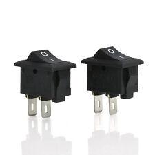 10Pcs 2 Pin 12V Car Boat Round Dot Light ON/OFF Rocker Toggle Switch Tool Set TO