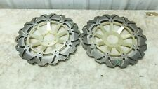 97 Honda CBR 1100 CBR1100 XX Blackbird front brake rotors disks