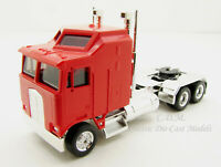 Kenworth K100 Red w/Chrome Chassis Long Wheel Base 3 Axle HO 1/87 Promotex 35260